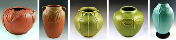 JW Art Pottery Five