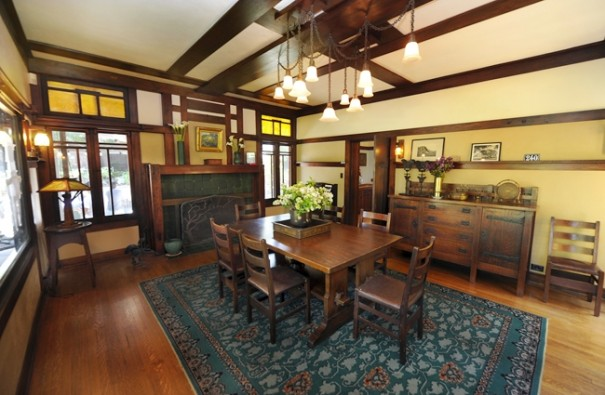 Irwin House - Dining Room Furnished