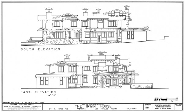 Irwin House - Elevation East VERY SMALL
