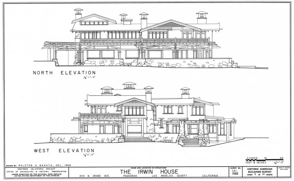Irwin House - Elevation West VERY SMALL
