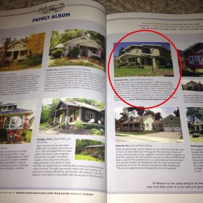 The Craftsman Bungalow Featured in the New Issue of American Bungalow!