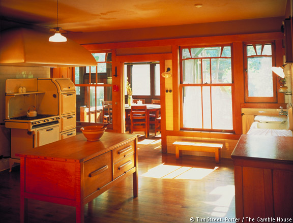 Elegant Awesome Gamble House Interior Images   3D House Designs   Veerle.us