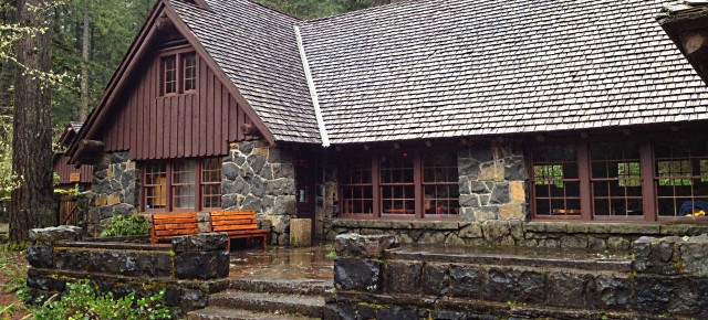A Legacy of Craftsmanship: The South Falls Lodge at Silver Falls State Park