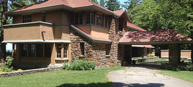 "Frank Lloyd Wright Designed Another House For Darwin Martin in Buffalo: The Lakefront Estate ""Graycliff"""