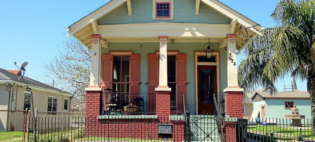A Resurrection in New Orleans:  Restored Bungalows of the 9th Ward