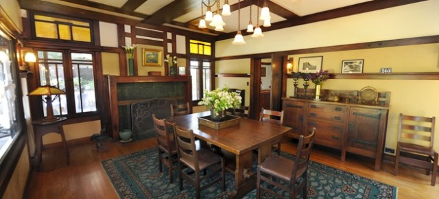 Another Greene & Greene Masterwork The Duncan-Irwin House, Part II: The Interior