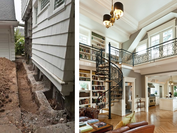 The giltner house a local builder breathes new life into for Kitchen library portland