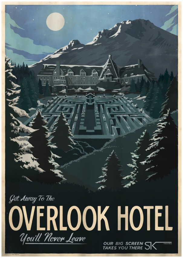 Overlook Hotel - Travek Poster