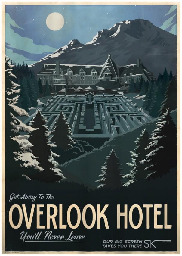 Overlook Hotel - Travek Poster