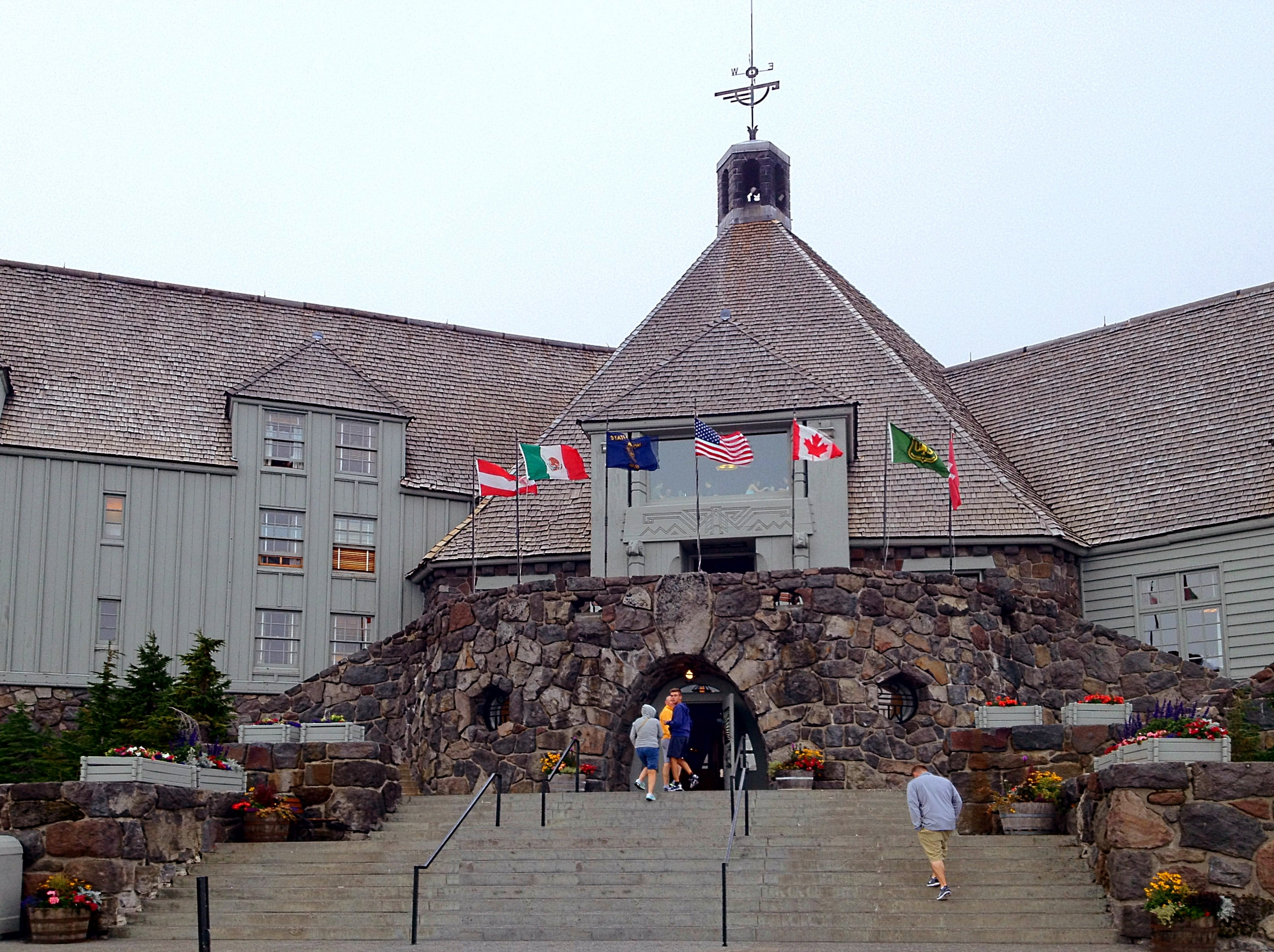 Timberline lodge the quintessential american alpine lodge for The alpine lodge