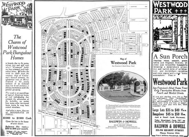 Westwood Park Map 2