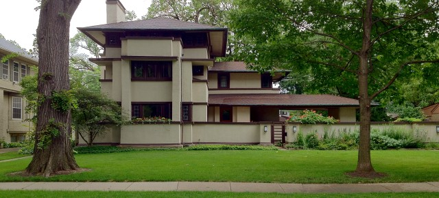 Frank Lloyd Wright's Oak Park, Illinois Designs: The Prairie Period 1900-1913