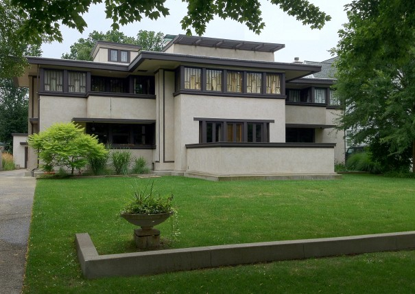Frank lloyd wright s oak park illinois designs the - Frank lloyd wright designs ...