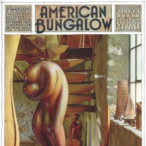 Wharton Esherick: Integrating Life, Art & Craft: American Bungalow Cover Article