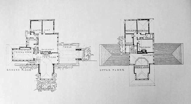 Frank Lloyd Wright S Oak Park Illinois Designs The