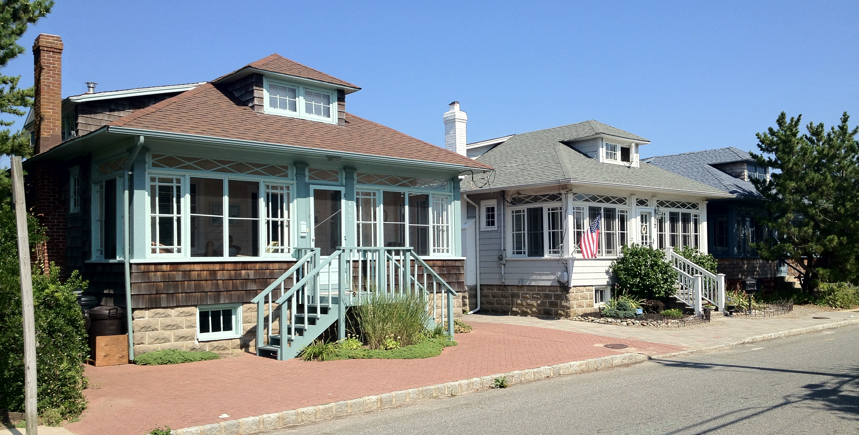 This Grand Craftsman Home Above And Below Which Sits Just A Half Block From The Beach Was My Favorite Hands Down Ive Never Before Seen Dormers