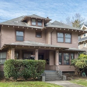 Peek Inside: A Classic 1909 Craftsman Fixer For Sale in Portland