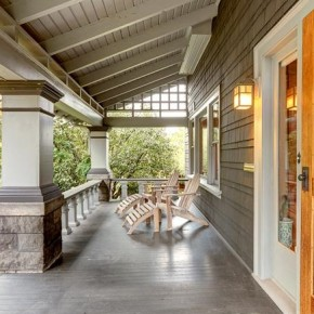 Peek Inside: A Grand 1910 Swiss Chalet Craftsman Home Fully Restored