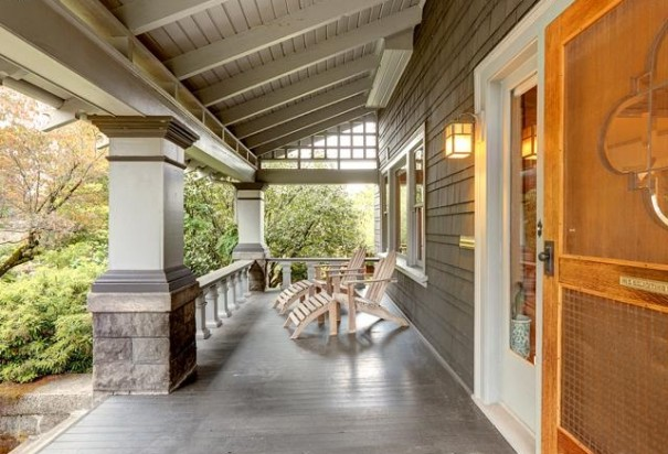 Peek Inside A Grand 1910 Swiss Chalet Craftsman Home Fully