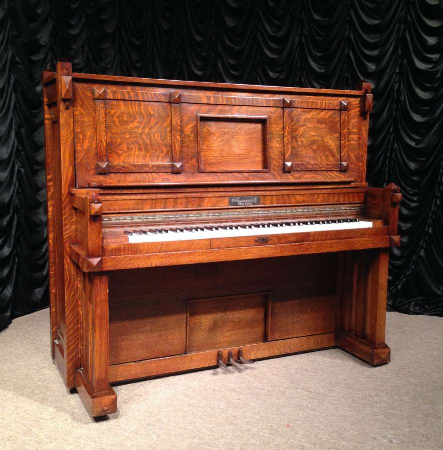 the craftsman spotlight: michael stinnett and the antique piano