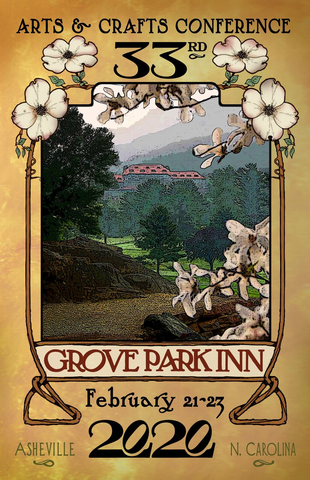 The 33rd Annual Grove Park Inn Arts & Crafts Conference 2020
