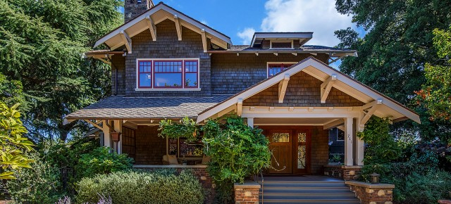 Grand 1910 Bay Area Residence, Once Home to CA Supreme Court Justice, Listed For Sale