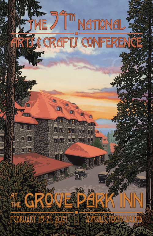 The 34rd Annual Grove Park Inn Arts & Crafts Conference 2020